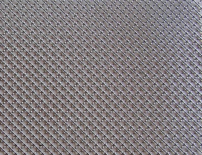 "Universal   Stainless Steel Chrome 2.5mm Wire Mesh 16""x48"" 1 PC/ Set UNIVERSAL Wire Mesh Grille"