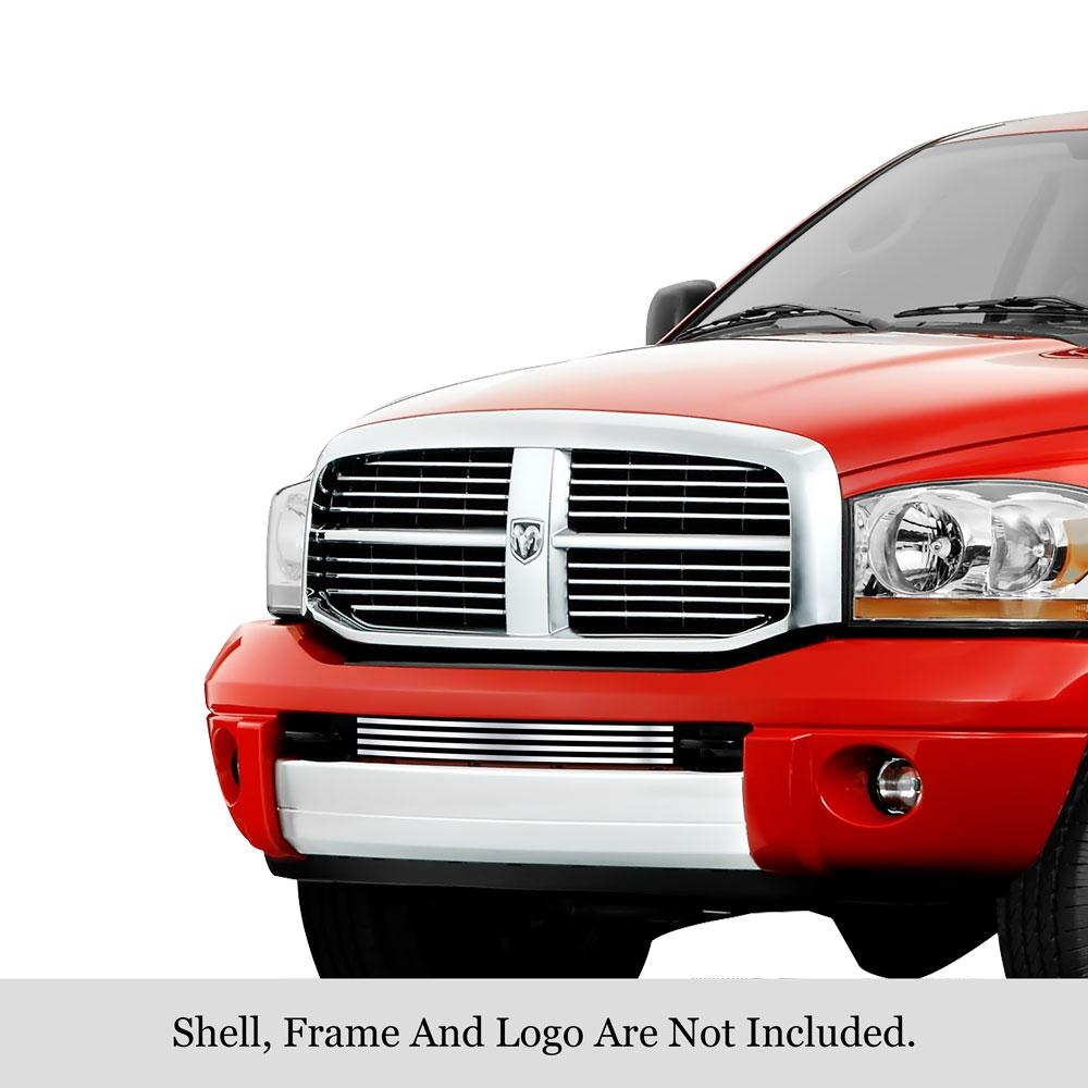 APS Compatible with 07-10 2010 Dodge Avenger SXT Lower Bumper Billet Grille N19-A91566D